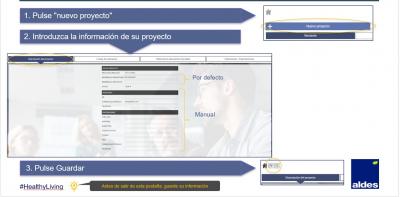 aldes-selector-quote-interfaz-crear-nuevo-proyecto