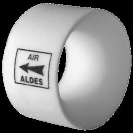 Anillo acústico para las bocas Ø125 mm