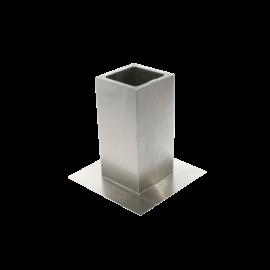 Remate aislado con silenciador para cubierta planaTAHA-TAVA 220