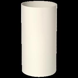 Alargador Miniconducto blanco 0,25m Ø125
