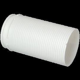 Alargador Miniconducto blanco equivalente Ø80 (40x100) largo 150