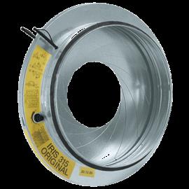 Compuerta de regulación con Iris Ø100 mm