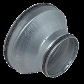 RCC galva + juntas Ø160/125 mm