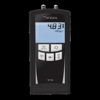 Micromanómetro Electrónico de precisión con su estuche