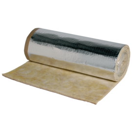 Rollo lana mineral 25 mm