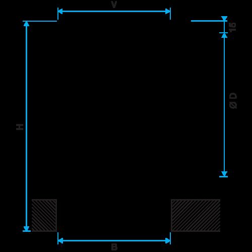 Serie LINED® Combined - aluminio