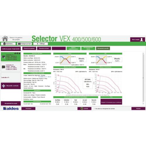 Selector VEX 400/500/600