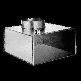 MEF3 1000x75/2xØ100 Plenum lateral