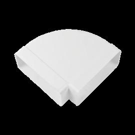 Codo horizontal 90° 170x90 mm